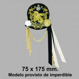 MOTIVO MARINERO CON IMPERDIBLE 508415.000.0001 75x175 mm.