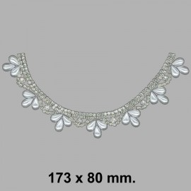 CUELLO TERMO STRASS 752051.000.0001 173x80 mm.
