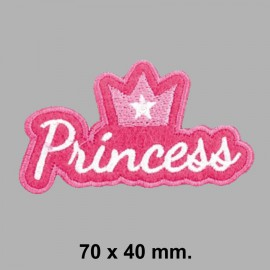 PARCHE TERMOADHESIVO 164699 PRINCESS 70x40 mm.