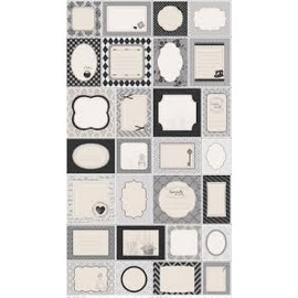 TELA PATCHWORK RILEY BLAKE - SEW LABES GRAY